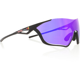 Red Bull SPECT Flow Lunettes de soleil, matte black/grey-purple